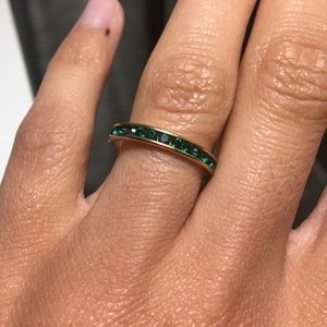 """Jewelry - Simple """"emerald"""" band"""